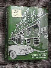 87 Oldsmobile chassis service manual