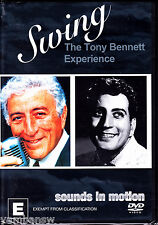 SOUNDS IN MOTION * SWING - THE TONY BENNETT EXPERIENCE * NEW & SEALED DVD