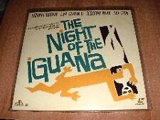 LASERDISC  LASER DISC  FILM - THE NIGHT OF THE IGUANA   Burton - Gardner