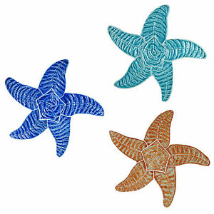 "Mosaic 9"" Starfish for Swimming Pool or Wall - 3 colors available -Free Shipping"