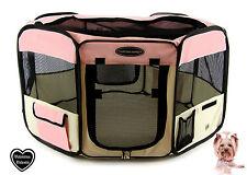 Tessuto pieghevole Pet Gioco Penna – grande – rosa-L