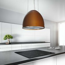 45cm Premium Designer Island Cooker Hood w/Integra - Airforce New Moon - Copper