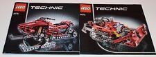 Lego Technic 8272 Schneemobil, only Instructions Manuel,ohne Steine