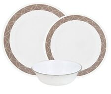 Correlle Sand Sketch 12 Piece Dinner set Tablewear 1127004