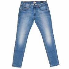 HILFIGER DENIM Jeans Faded Blue Skinny Fit Size 32 RRP £80 RL 290