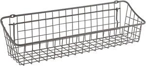 Spectrum Diversified Medium Pegboard & Wall Mount Wire Basket for Slatwall & ...