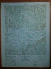 1940's Army Topo map Direct Texas Oklahoma  Sheet 6851 IV