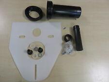 Wand WC Anschlußgarnitur DN90 250mm mit Deckkappen und Schallschutz Set