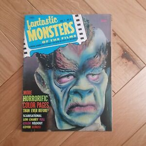 Famous monsters- 1960s Fantastic Monsters of the Films #6 good condition