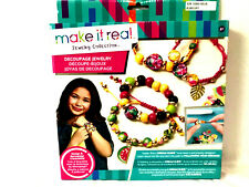 Make it Real Jewelry Collection Kit Make & Design 4 Bracelets!