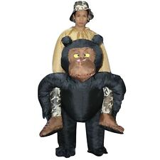 Inflatable Adult Chimp Chimpanzee Monkey Gorilla Ape Fancy Dress Costume Outfit