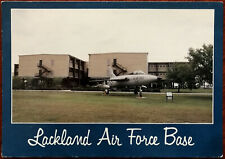 Lakeland Airforce Base, San Antonio, Texas. F-107 Aeroplane Postcard