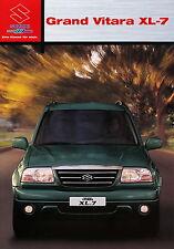 1015SUZAU Suzuki Grand Vitara XL-7 2003 2/03 deutsche Ausgabe brochure