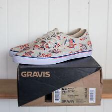Gravis Aloha Slymz Shoes SIZE US12 NEW
