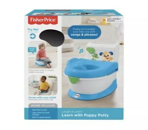 Fisher Price FISHER-PRICE LAUGH & LEARN WITH PUPPY POTTY Brand New