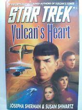 "STAR TREK ""VULCAN'S HEART"" BOOK. JULY 1999"
