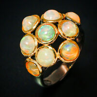 Opal Ring 925 Sterling Silver Size 8 /RT18-0456
