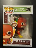 DC Holiday #356 - Rudolph Flash - Funko Pop! Heroes (Brand New)
