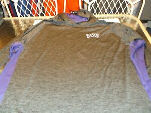 TCU Horned Frogs NCAA  long sleeve pullover shirt with hood by Colosseum 3XL