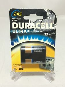 1 x Duracell Ultra Lithium Photo Camera batteries 6v lithium 2CR5 DL245 EL2CR5