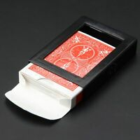 Magic Trick Close-Up Street Vanishing Disappearing Deck Card Plastic Frame Funny