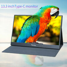 "Portable USB-C Monitor 13.3"" 1080P HDMI Type-C Gaming for Xbox PS5 Switch Pi 4B"