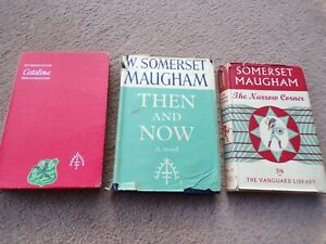 W Somerset Maugham - 3 First Editions inc. Then and Now
