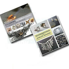 Silversmithing for Jewelry Makers,2 Books Set(The Art of Soldering for Jeweller)