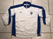 Rare Vintage Brazil National Team 1998 Soccer Jacket Men's Large