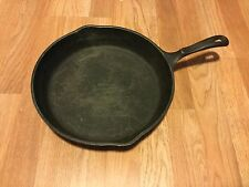 """Vintage Wagner's 1891 Original 11 3/4"""" Cast Iron Skillet Frying Pan Made in USA"""