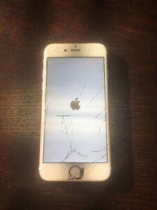 Apple iPhone 6s - 64GB - Rose Gold (Sprint) A1688 (CDMA + GSM)