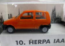 Herpa FIAT Cinquecento 10. Herpa IAA 1993 Frankfurt limitiertes Sondermodell OVP