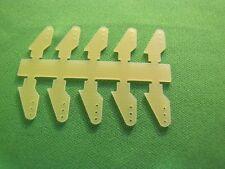 Ruderhorn Ruderhörner Anlenkhebel aus 1mm GFK 10 Stück 10mm hoch
