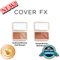 COVER FX Monochromatic Bronzer Duo, 100% Authentic, Available in 2 Color Options