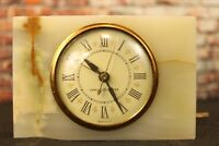 VTG General Electric Marble Alarm Clock Model 7286A
