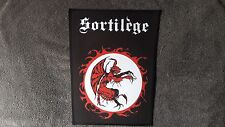 SORTILEGE,SEW ON SUBLIMATED LARGE BACK PATCH