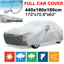 14ft Full Car Cover Waterproof Sun UV Dust Rain Heat Scratch Resistant Protector
