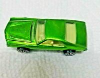 HOT WHEELS VINTAGE REDLINE 1968 CUSTOM AMX LT. GREEN ALL CAPS NMINT UNRESTORED
