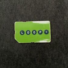 VIAG Interkom O2 Loop aktiver Easy Money 0179 grüne Prepaid Sim Karte