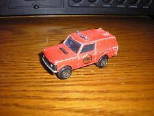 RARE Vintage Majorette 1/60 Range Rover Fire Department Rescue Truck