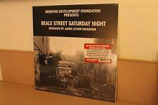 Beale Street Saturday Night Memphis Development NEW SEALED clear vinyl LP