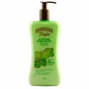 2x Hawaiian Tropic Lime Coolada After Sun Moisturizer 480ml EACH- LONG EXPIRY