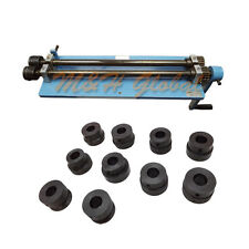 Bead Roller Rotary 6 Dies Set Machine Clamp Bench Vise Steel Sheet Metal Rolling