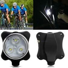 Waterproof Rechargeable 40LM 3-LED 4-Mode USB Front Head Bicycle Light Lamp LN