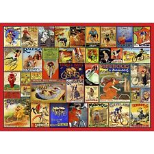 Wentworth Vintage Bicycle Posters Jigsaw Puzzle 500pc 510 x 360mm Difficult