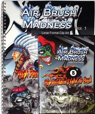 AIR BRUSH MADNESS 1, XTREME GRAPHICS LARGE FORMAT CLIP ART PRINTS VINYL SIGNS