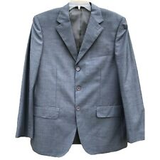 Giorgio Armani Men's Jacket Blazer Sz 40 50  Striped 100% Wool Sports Coat