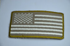 SUBDUED US FLAG MILITARY 3' Embroidered Iron Sew On Cloth Patch Badge Applique