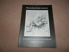 Bloomsbury Book Auctions Catalogue Children's and Illustrated 2001 A A Milne