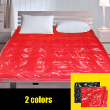 Adult Couple Game Sex Bed Passion Supplies PVC Waterproof Sheets SM Queen King